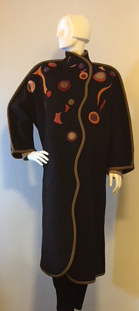 Lorraine Torrence Around the Wool Coat Front