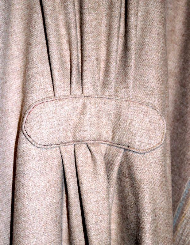 Ruana back details