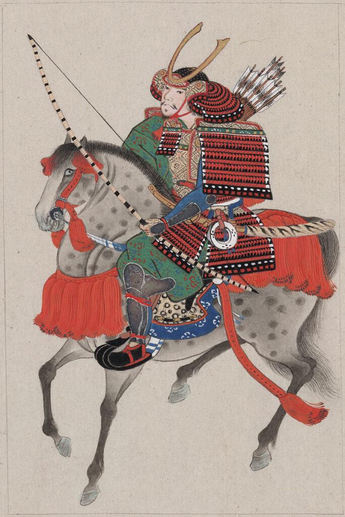 Kumihimo Samurai Armor on Horseback