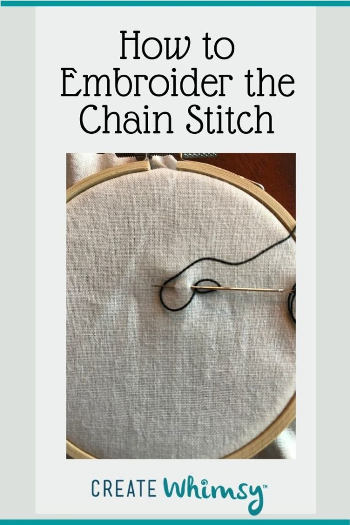 Chain Stitch Pinterest Image 2