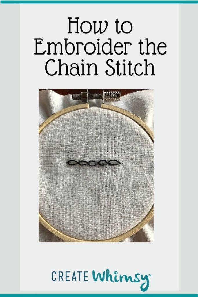 Chain Stitch Pinterest Image 5