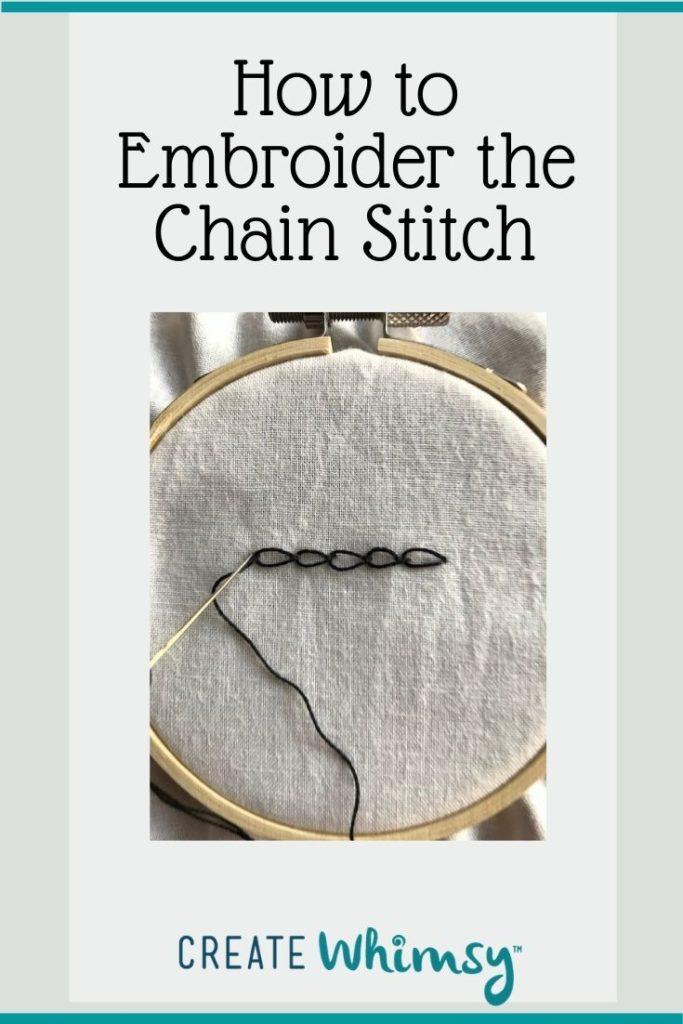 Chain Stitch Pinterest Image 6