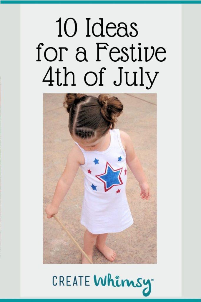 Pinterest image 4th of July dress