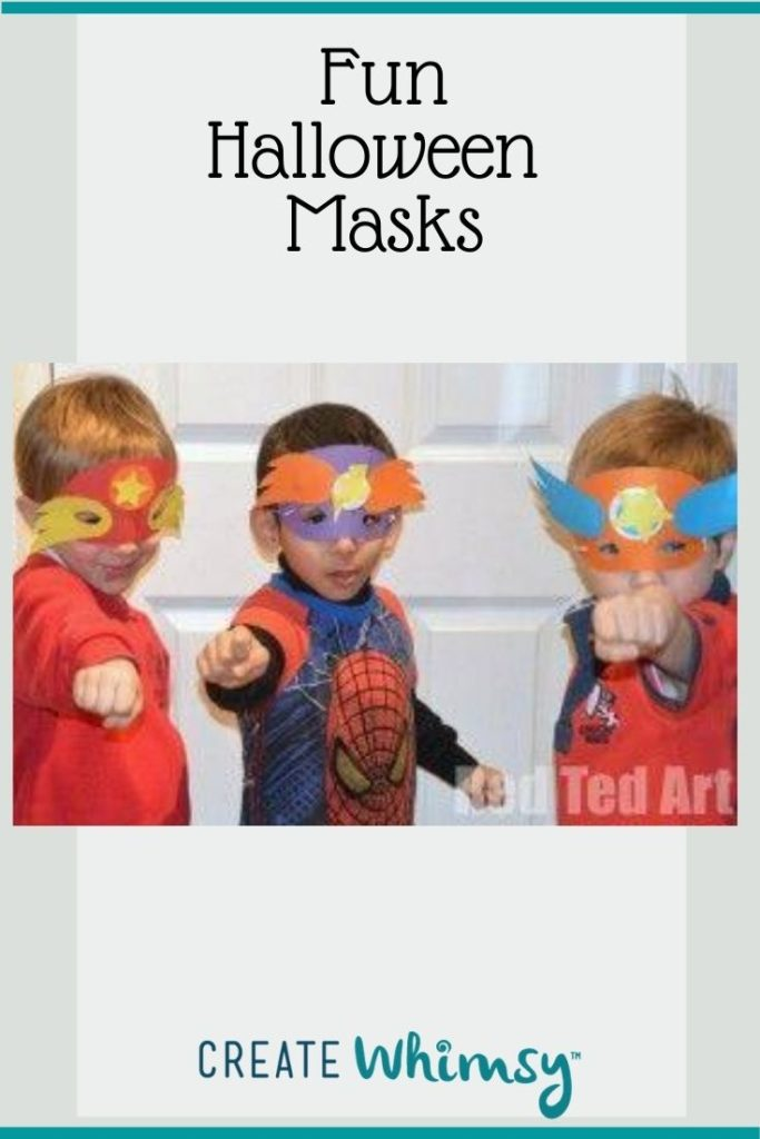 Kid Mask Pinterest Image 3