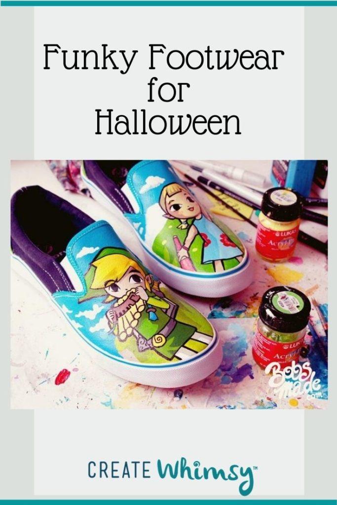 Pinterest image for funky footwear 2