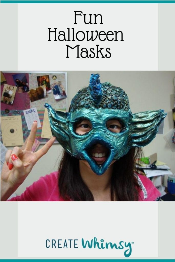 Adult Halloween Mask Pinterest Image 2