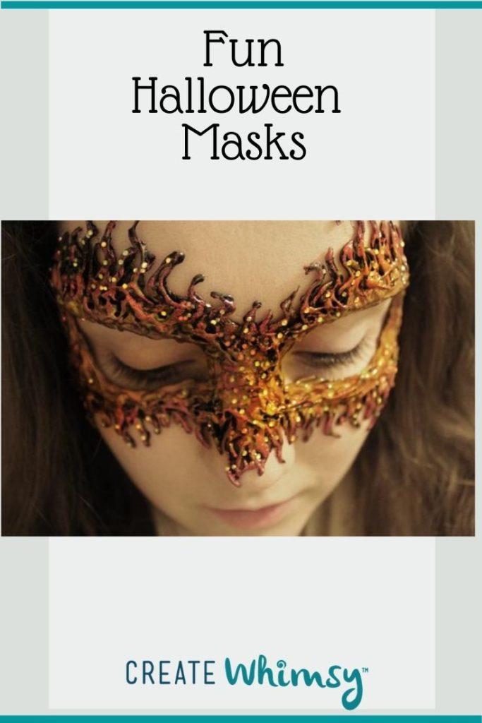 Adult Halloween Mask Pinterest Image 3