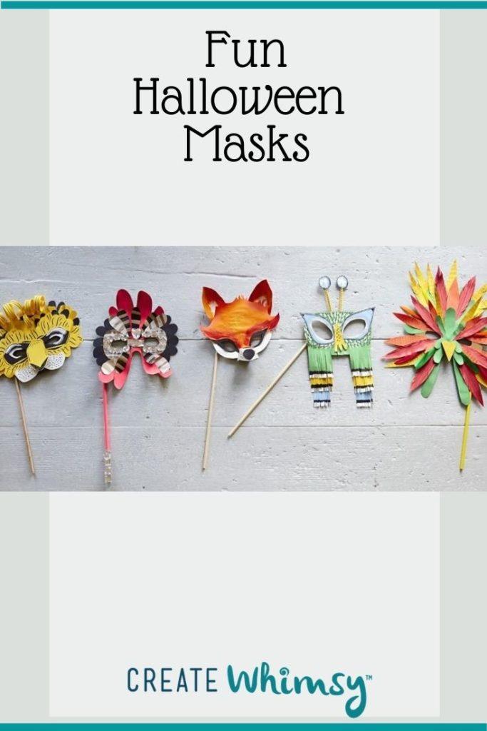 Adult Halloween Mask Pinterest Image 4