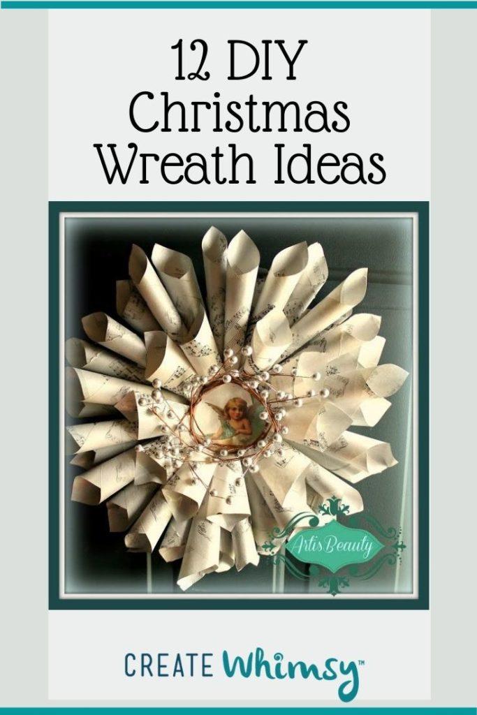 Christmas Wreath Pinterest Image 1