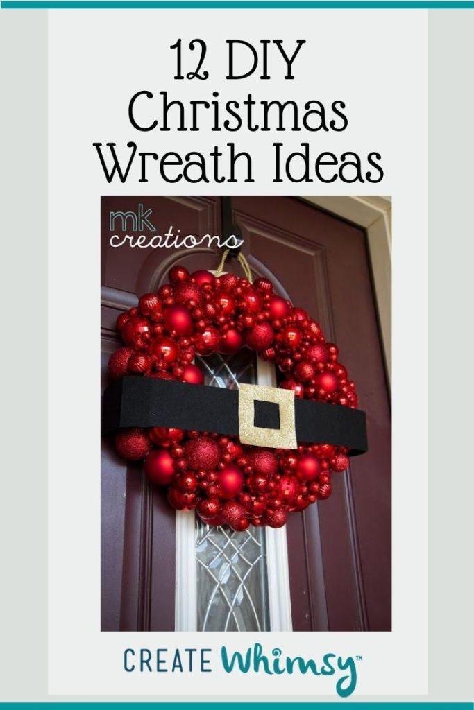 Christmas Wreath Pinterest Image 10
