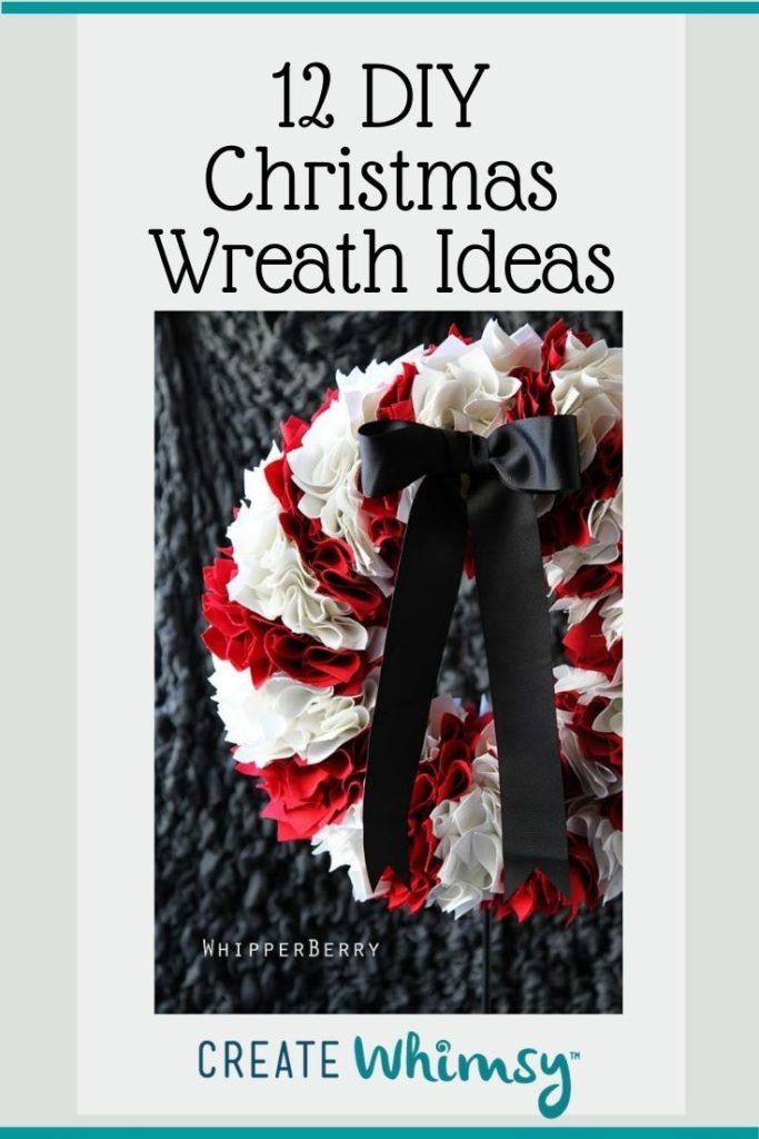 Christmas Wreath Pinterest Image 11