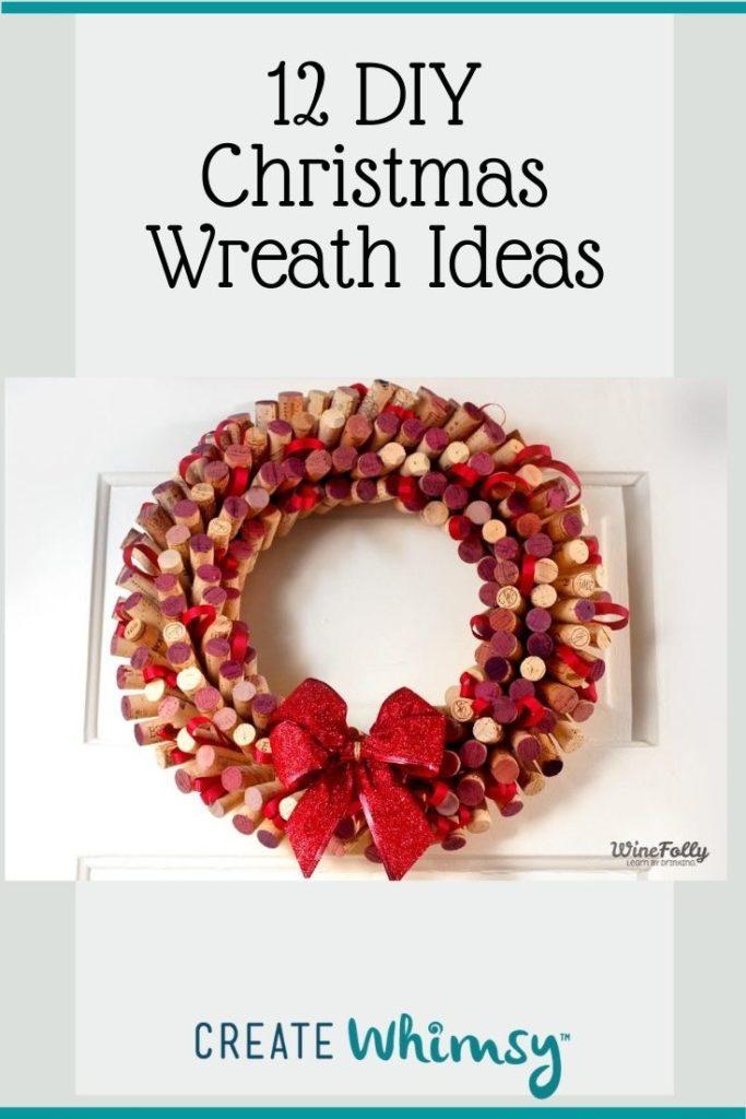 Christmas Wreath Pinterest Image 12