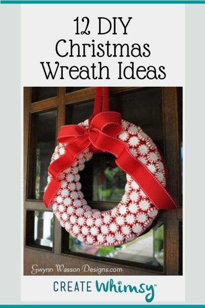 Christmas Wreath Pinterest Image 2