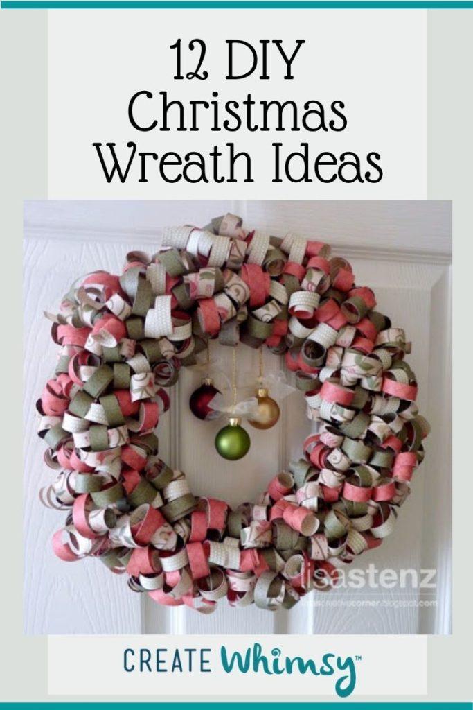 Christmas Wreath Pinterest Image 3
