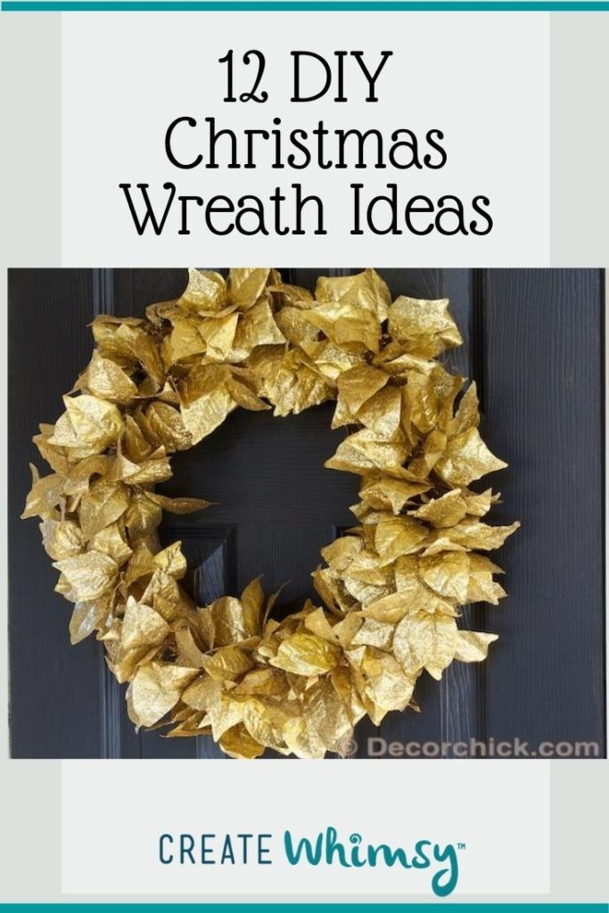 Christmas Wreath Pinterest Image 4