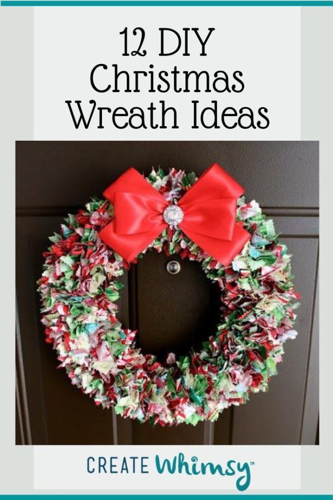Christmas Wreath Pinterest Image 5