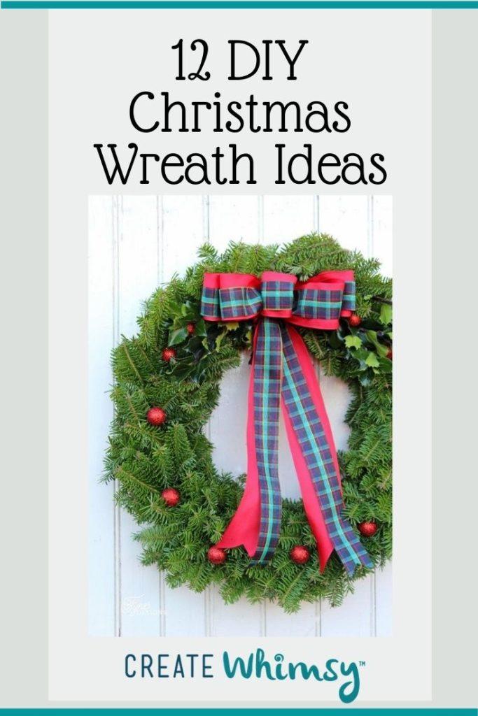 Christmas Wreath Pinterest Image 6
