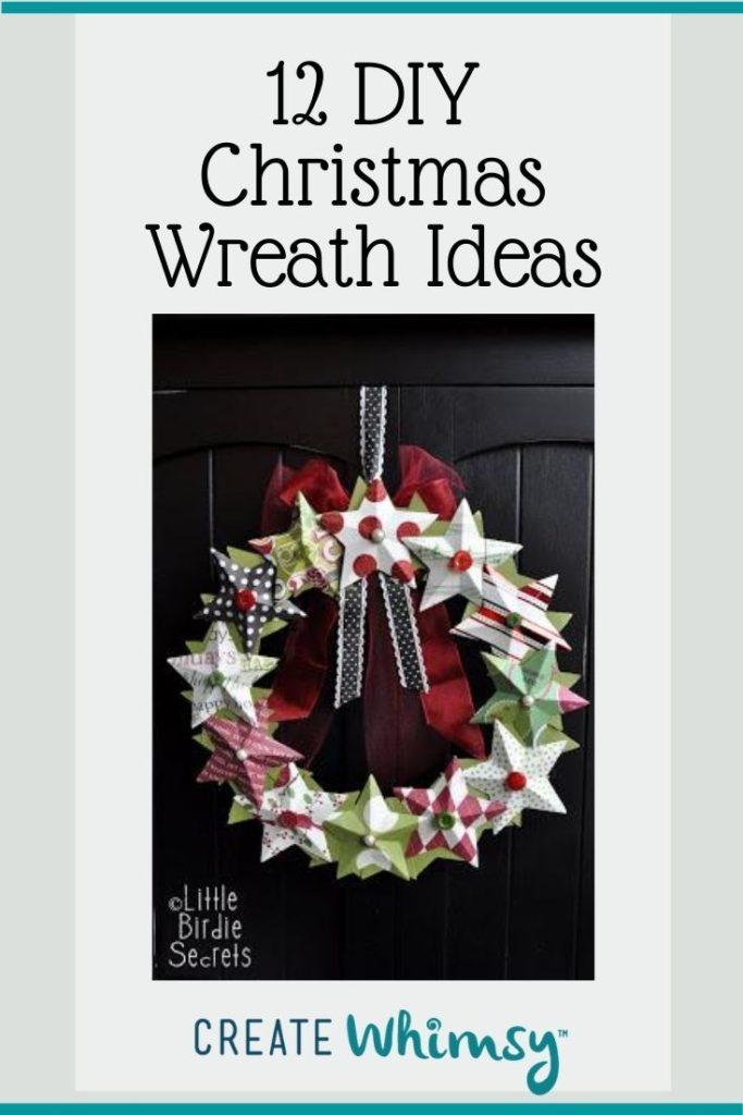 Christmas Wreath Pinterest Image 7