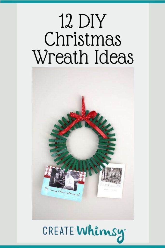 Christmas Wreath Pinterest Image 8