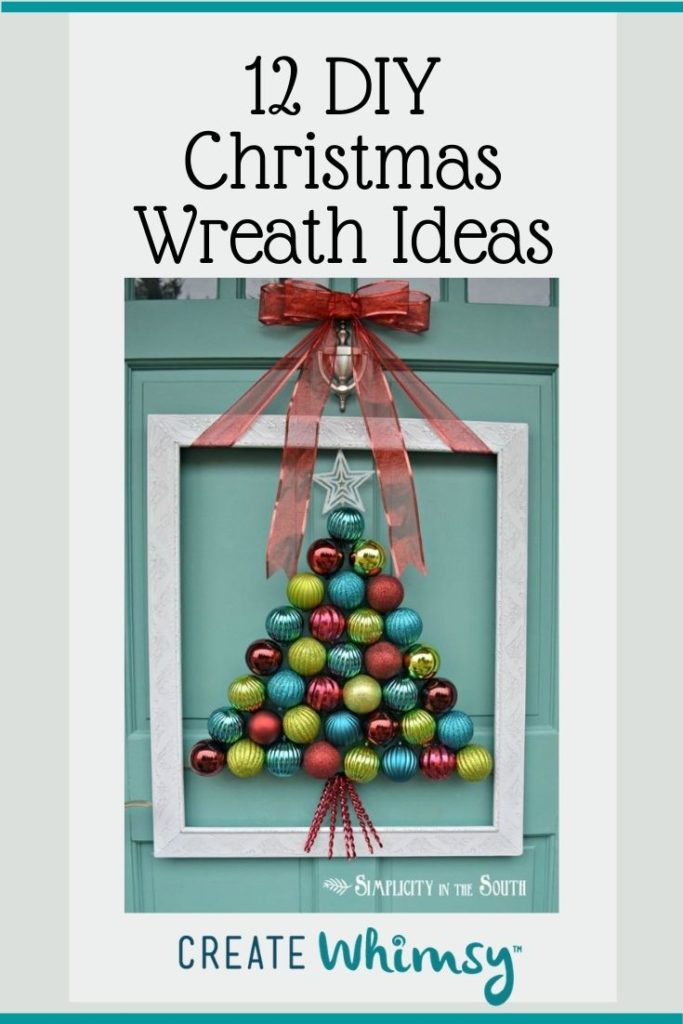 Christmas Wreath Pinterest Image 9