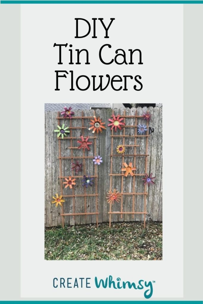 Tin Can Flowers 2