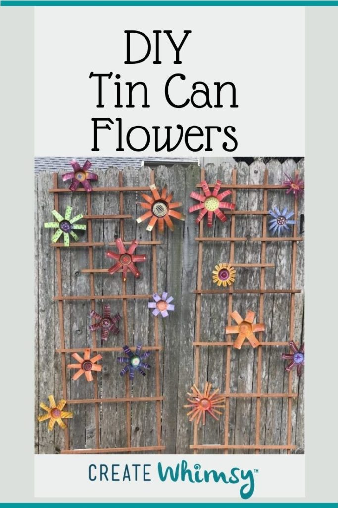 Tin Can Flowers 3