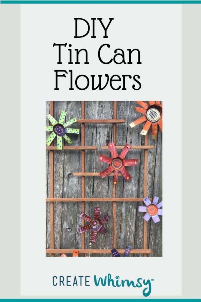 Tin Can Flowers 4