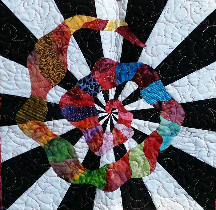 Cosmic Spirals Closeup 2