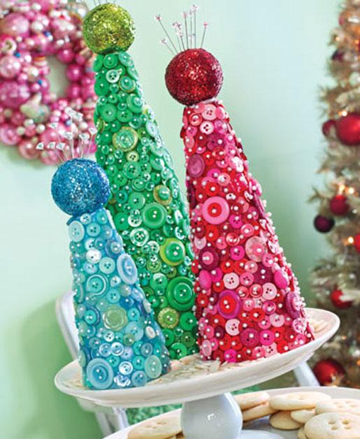 Christmas Button Projects