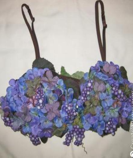 Embellished bra for a fundraiser