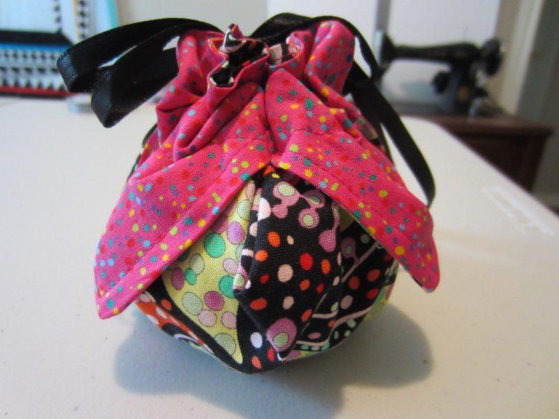 Finished little bag