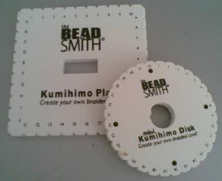 Kumihimo disks