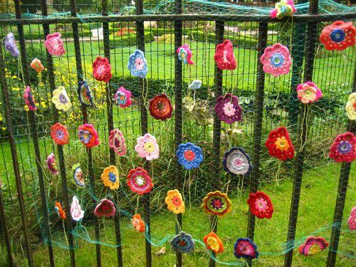 Flowery Fence