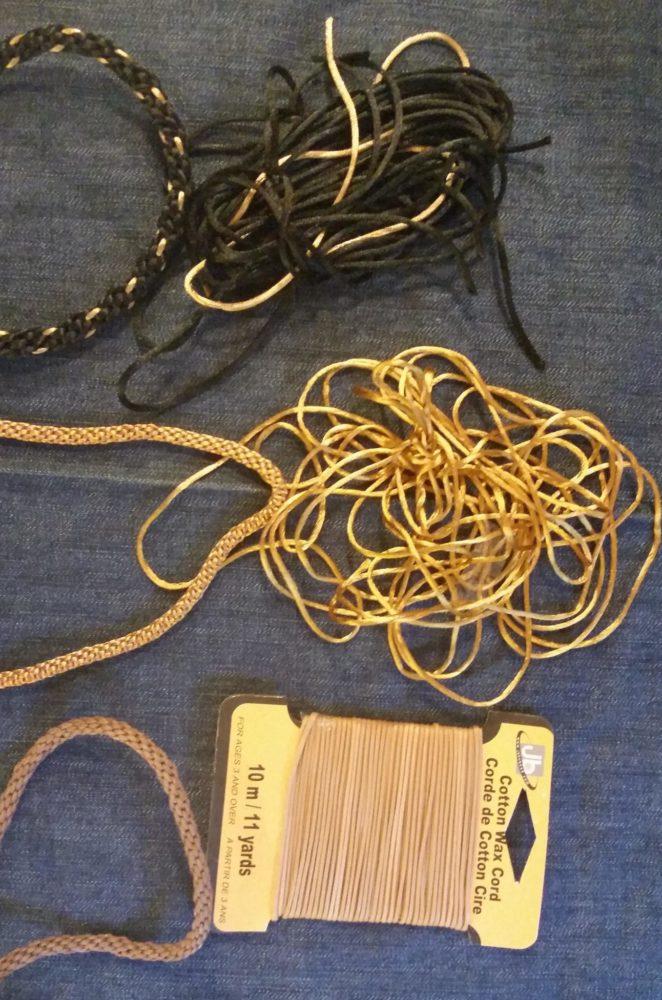 How To Do Kumihimo samples of finished kumihimo cords
