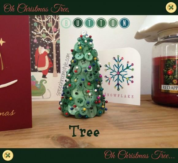 Button Box Christmas Tree