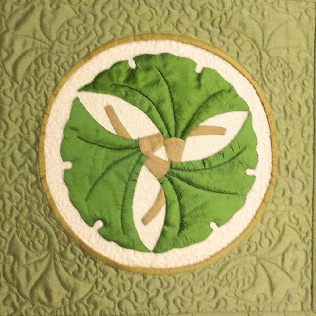 Japanese Family Crest (Kamon) Series - Gingko Leaf