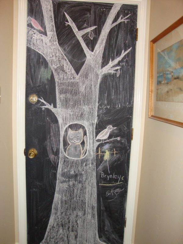 Blackboard back door