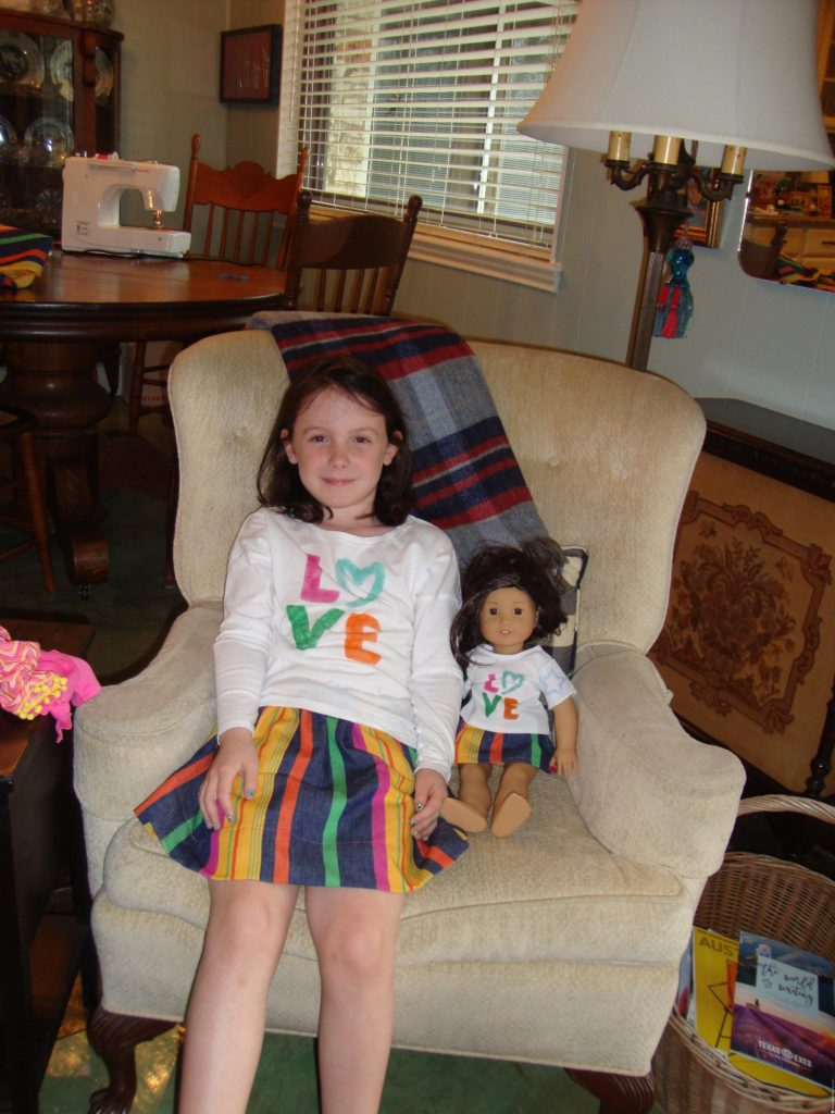 Love Matching Outfits from Bobbie for American Girl and your girl