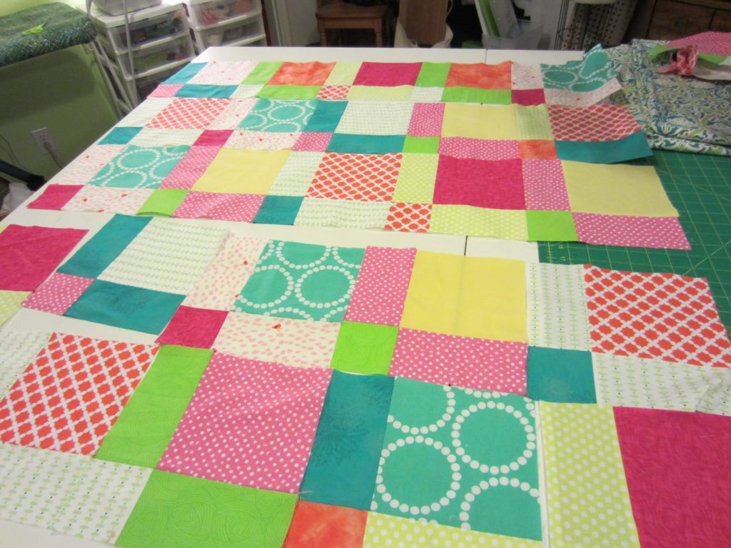 Putting the new squares back together