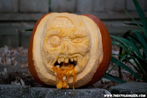 Creepy pumpkins by the stylish geek