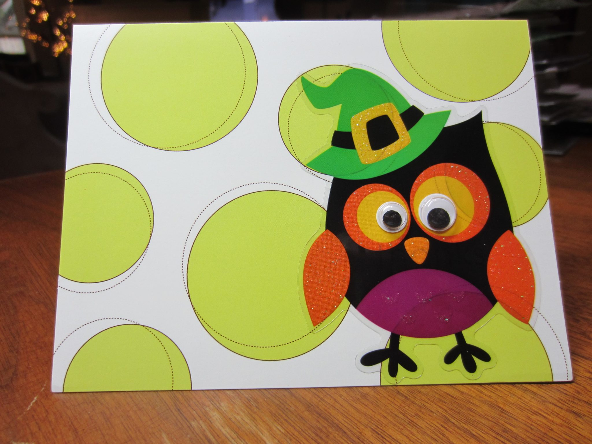Halloween Owl Card