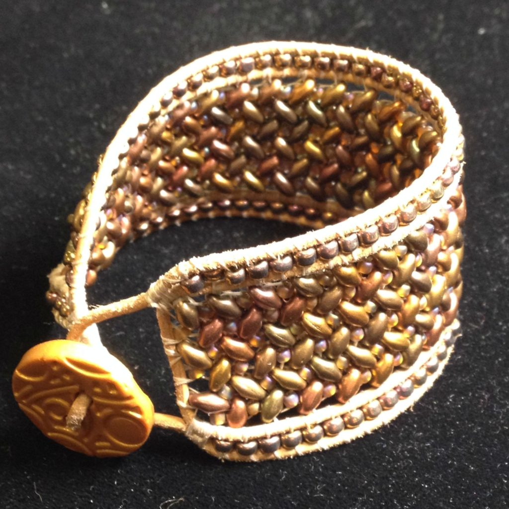 Showing the clasp and inside of the bracelet