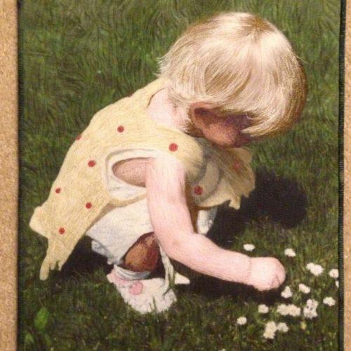 Thread Painting Alice