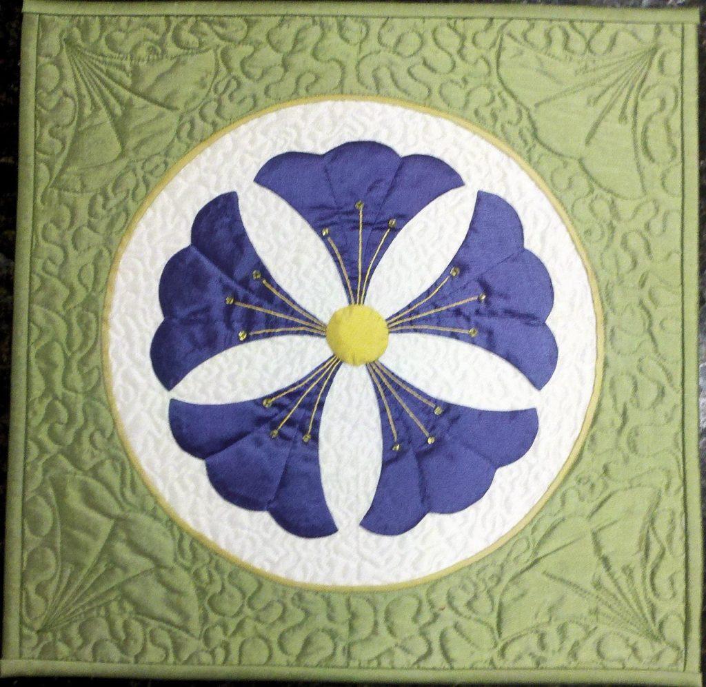 Japanese Family Crest (Kamon) Series - Chinese Flower