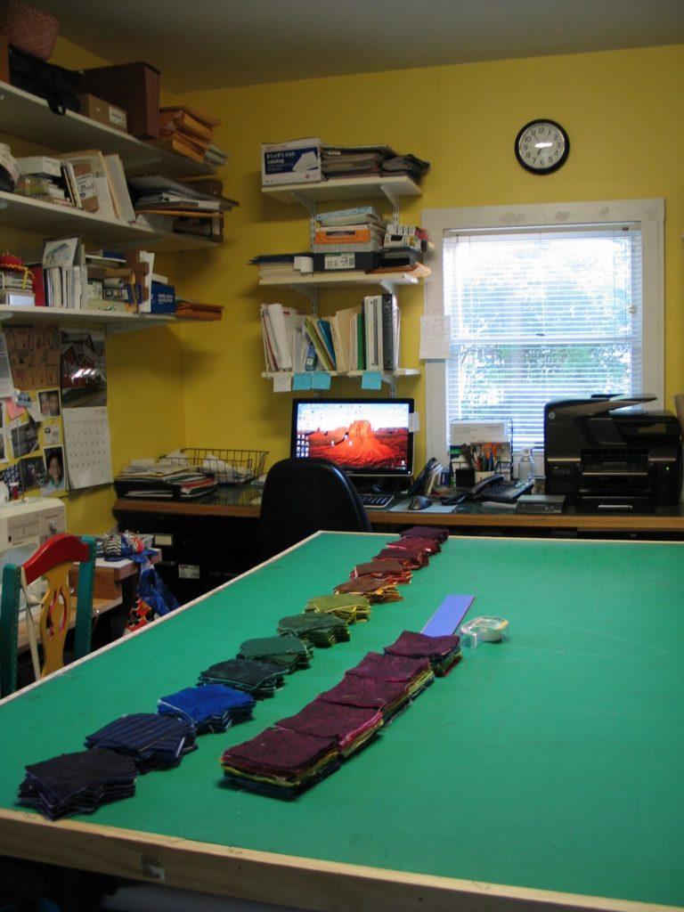Lorraine's studio