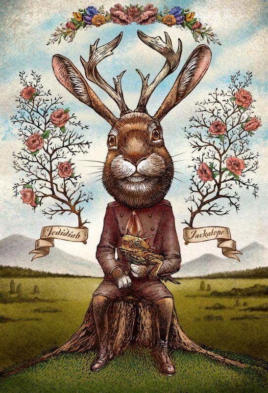 Rabbit illustration by Chet Phillips