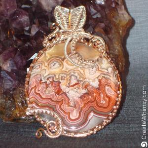 Jan Thompson Wire wrapped stone