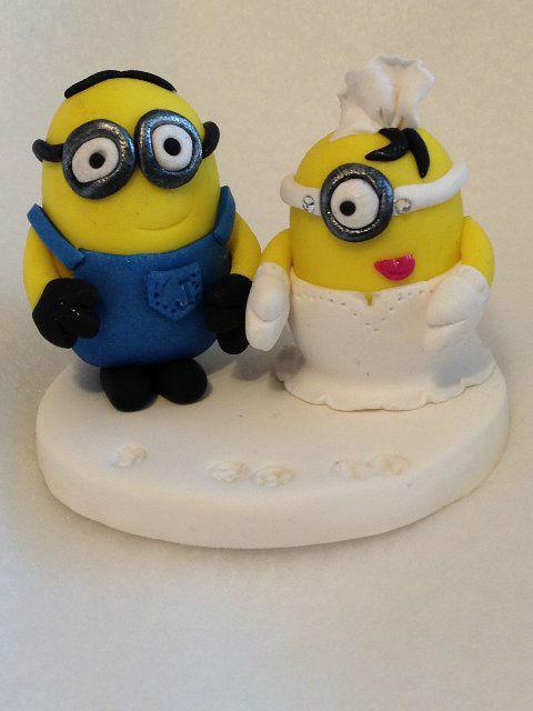 Minions cake topper