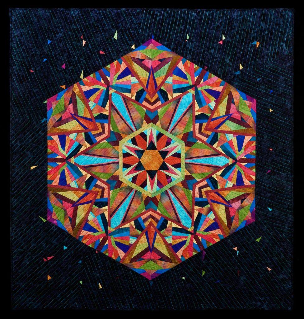 Paper Pieced Kaleidoscope Quilt
