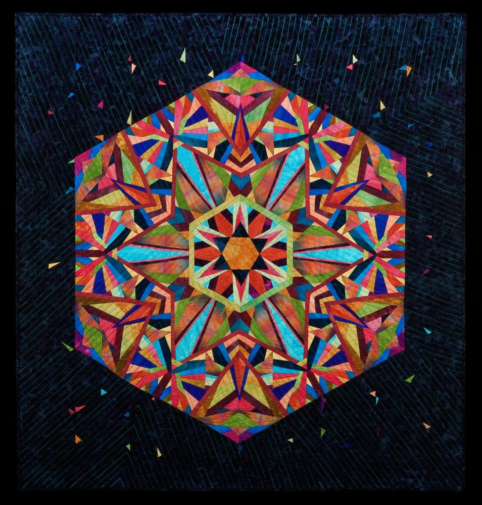 Paper Pieced Kaleidoscope Quilt